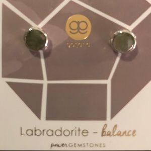 Gorjana Power Gemstone Earrings - balance. New